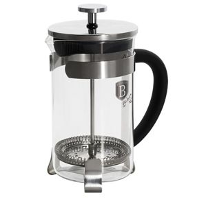 Konvička na čaj a kávu French Press 600 ml černá BERLINGERHAUS BH-1787