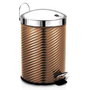 Koš odpadkový nerez 5 l Rosegold Metallic Line
