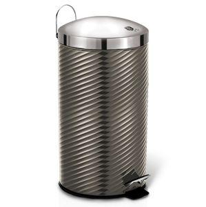 Koš odpadkový nerez 7 l Carbon Metallic Line