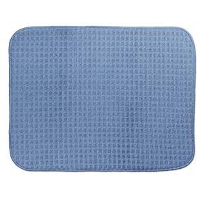 Odkapávací podložka na nádobí RAPIDA 50 x 39 cm modrá