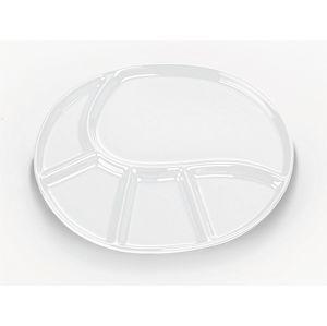 Fondue talíř VRONI bílá 28,5 x 22 cm KELA KL-67406