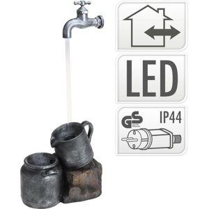Fontána pokojová i venkovní s LED osvětlením Konve