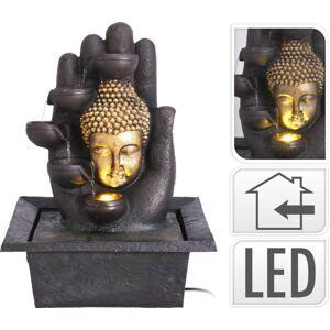 Fontána pokojová s LED osvětlením Buddha