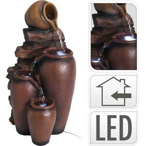 Fontána pokojová s LED osvětlením Amfory