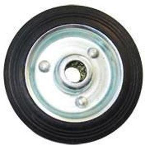 Kolo gumové černé 85 mm / 12,5 mm / 60 kg
