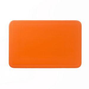 Prostírání UNI oranžové, PVC 43,5x28,5 cm