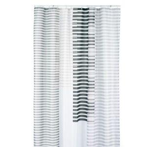 Sprchový závěs LAMITA, 100%PES, 180x200cm, béžový